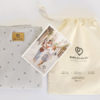 packaging crosses baby wrap organic cotton